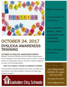Dyslexia Awareness Training