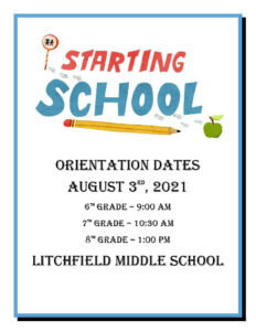 Orientation Date and Time